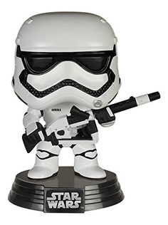 Funko Pop Star Wars: Heavy Artillery First Order Stormtrooper Pop (Amazon Exclusive) * More details @ http://www.amazon.com/gp/product/B013G0J7FO/?tag=superheroes025-20&de=120816002033