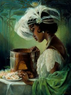 Princess Tiana by Heather Theurer at An Art Tribute to the Disney Films of Ron Clements and John Musker. Princess Tiana by Heather Theurer at An Art Tribute to the Disney Films of Ron Clements and John Musker. Disney Films, Disney Pixar, Heros Disney, Disney E Dreamworks, Disney Animation, Disney Characters, Disney Princesses, Disney Princess Tiana, Disney Fan Art
