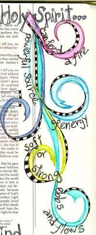 Image result for bible art journaling quotes with circles in the quote