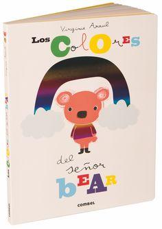 "Virginie Aracil. ""Los colores del señor Bear"". Editorial Combel. Pixar, Bear Ears, Princesas Disney, Conte, Pikachu, Family Guy, Books, Animals, Fictional Characters"