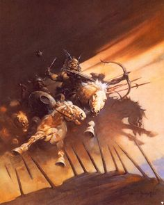 Huns by Frank Frazetta