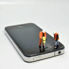 "iPhone repair - Phani Kumar (@phanikumar) on Instagram  #miniatures #miniaturephotography #preiser"""