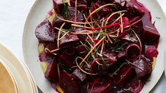 Roasted Beetroot with Grapefruit and Rosemary:If using different-colored beets, remember to toss them separately so they don't stain one another. Sin Gluten, Gluten Free, Roast Recipes, Cooking Recipes, Roasted Beets Recipe, Beet Salad Recipes, Beetroot Recipes, Vegetable Recipes, Rosemary Recipes