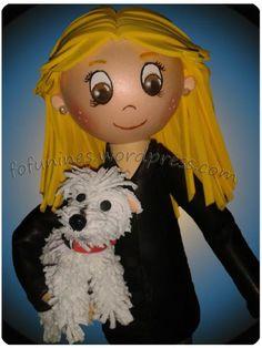 fofucha con perro