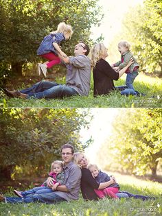 #AppleOrchard #Family #Portrait Session | August Tea Photography