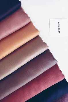 Beautiful Plain Scarves in a range of fabrics and colours. Modest Dresses, Modest Outfits, Modest Clothing, Scrunchies, Scarf Storage, Fabric Photography, Hijab Collection, Hijab Fashion Inspiration, Beautiful Hijab