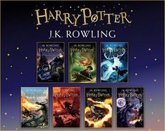 Harry Potter Bloomsbury covers