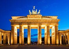 Alemania-Berlin-Puerta de Brandenburgo