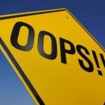 Find out what steps to take when mistakes happen in the business world #fulfillment