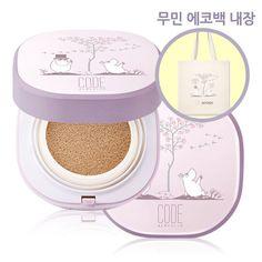 [CODE MooMin 2nd Edition] All Uid Foam Cushion Face Makeup Korea Cosmetics #codeglokolor