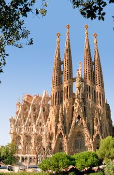 Explore the swirling, Modernista architecture of Antoni Gaudí.