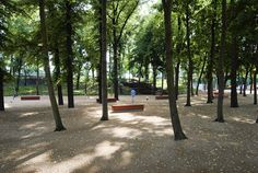 1-Rehwaldt-landscape-architecture-benches-in-the-tree-hall « Landscape Architecture Works   Landezine