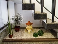 vão escada decorado