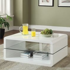 Shop for Coaster Company White Coffee Table. Get free shipping at Overstock.com - Your Online Furniture Outlet Store! Get 5% in rewards with Club O!