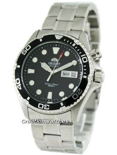 Orient Mako Automatic Scuba Diver FEM65008B Mens Watch