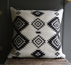 handmade pendleton wool pillow cover by littlebyrdvintage on Etsy