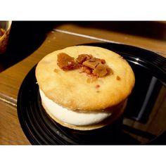 Pretty much breakfast in your mouth! Apple Bacon Whoopie Pie  #FoodAndWineFestival #FoodsOfDisneyland by paatriickk