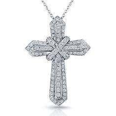 diamond cross pendant - Recherche Google