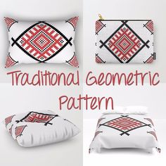 Geometric Art, Traditional Art, Romania, Duvet Covers, Throw Pillows, Pattern, Bags, Facebook, Design