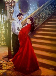 Gone With The Wind Fine Art Giclee Reproduction Clark