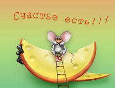 картинки анимационные картинки анимации анимированные картинки элементы дизайна мышка сидит на сыре счастье есть