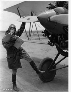 reading a book - dorothy sebastian about learning how to fly
