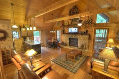 Cabin 8032 at our west location here at Hidden Mountain Resorts