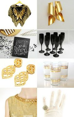Happy Vintage New Year--Pinned with TreasuryPin.com