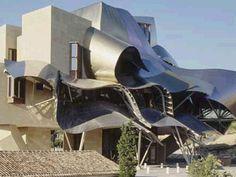 El proyecto Frank. O. Gehry. Hotel Marqués de Riscal. Elciego (España). 2006 - Diseno de interiores