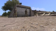 Arma 3 - Guarded Bunker - -=AOU=-