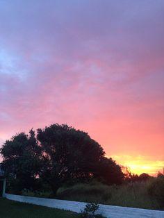 Pôr-do-sol no litoral gaúcho