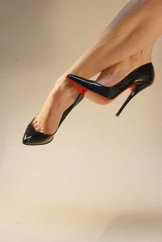 one day you will be owning and walking down the street in my very own Christian Louboutin shoes ($115). Just click the picture.