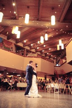 Beautiful first dance at Daybreak Star. The Things We Would Blog: Wedding Wednesday: Favorite Venues