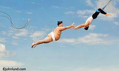 Trapeze lessons! :-)