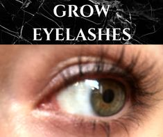 GROW EYELASHES! The absolute BEST way to grow eyelashes FAST!! Natural Eyelash Growth, Eyelash Growth Serum, Eyelash Curler, How To Grow Eyelashes, Longer Eyelashes, Long Lashes, Curling Eyelashes, Eyebrows, Diy