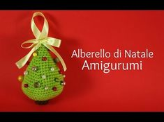 Hello everyone! In this tutorial, i'll show you how to crochet this beatiful christmas tree in amigurumi :D Like this video if you like, comment, and share . Crochet Christmas Ornaments, Christmas Tree Crafts, Christmas Projects, Little Christmas Trees, Xmas, Hello Everyone, Crochet Patterns, Diy Projects, Knitting