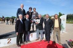 David Sbardella e Triomphe van Schuttershof  CAMPIONE ITALIANO SENIOR SALTO OSTACOLI 2014 #protected by KEP