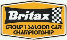 BRITAX GROUP 1 SALOON CAR CHAMPIONSHIP 1975 STICKER ADESIVO AUFKLlEBER CAPRI MK1 Mk1, Racing Stickers, Capri, Rally, Race Cars, Decals, Movie, Ebay, Group