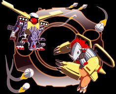 Digimon Double Team Go by Jonas64.deviantart.com on @deviantART (Metalgarurumon & Wargreymon)