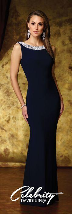 a36d0e26f414 Celebrity by David Tutera Spring 2016 - Style No. DT11610 #eveninggowns Vestido  Preto De