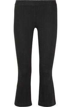 The Row Seeton mid-rise flared leggings NET-A-PORTER.COM
