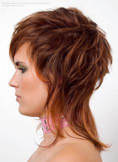 neue Look für lange Haare