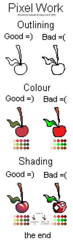 Colouring Pixel Work by kaykaykit