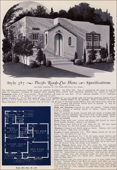 387 From Pacifics Book Of Homes Pacific Ready Built Spanish Style HousesSpanish BungalowSpanish