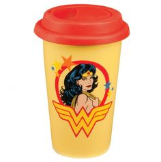 Wonder Woman Travel Mug 12Oz.