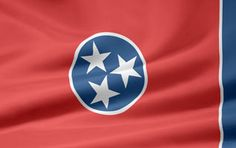 Picture of the Tennessee state flag.