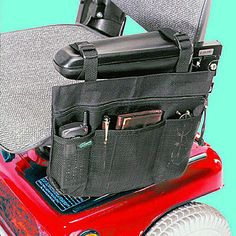 New Scooter Armrest Carry Tote Bag Pouch Pack Organizer