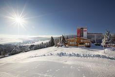 Hotel direkt am Fichtelberg gelegen