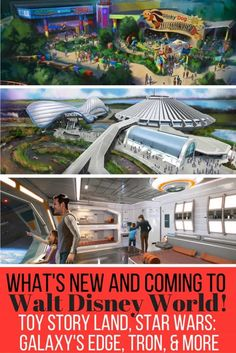 D23 had tons of Disney Parks announcements including what's new and coming at Disney World! They've announced new attractions at Magic Kingdom, Hollywood Studios, and Epcot! Get ready for Toy Story Land, Tron, Star Wars: Galaxy's Edge and even a new Star War themed hotel. Come check out all the details!
