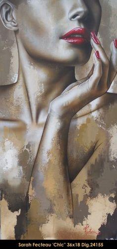 Acrylic painting by Sarah Fecteau #sarahfecteau #art #canadianartist…